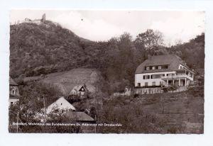 5340 BAD HONNEF - RHÖNDORF, Wohnhaus Konrad Adenauer, Drachenfels, Ende 50er Jahre
