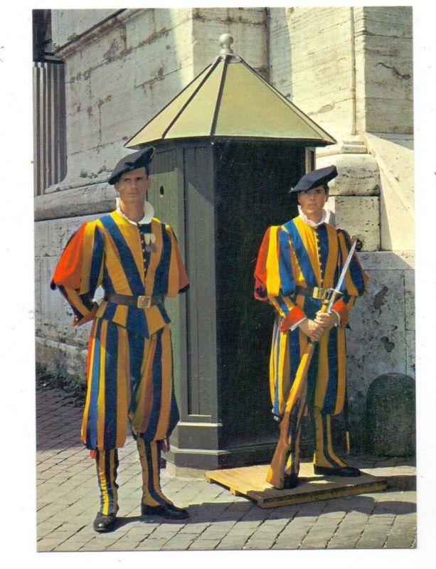 VATICAN - Guardie Svizzere, Schweizer Garde