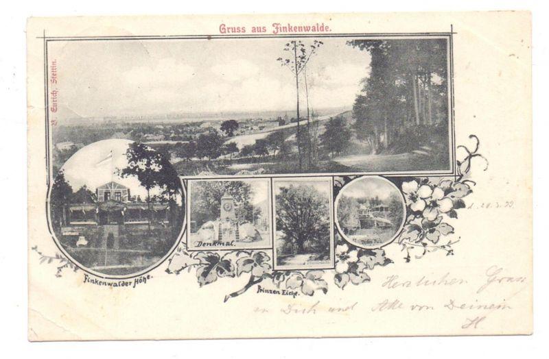 Pommern Stettin Finkenwalde Szczecin Zdroje Gruss Aus