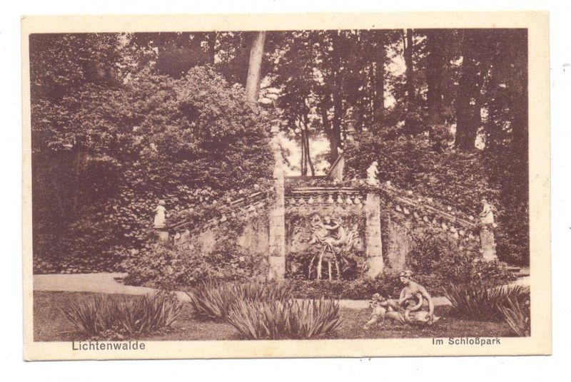 0-9387 NIEDERWIESA - LICHTENWALDE, Im Schlosspark 0