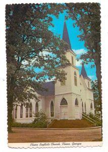 USA - GEORGIA - PLAINS, Baptiste Church