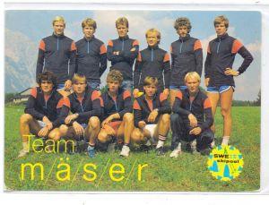 WINTERSPORT - LANGLAUF, Team Schweden, Thomas Wassberg / Torgny Mogren / Jan Ottosson...., 1983
