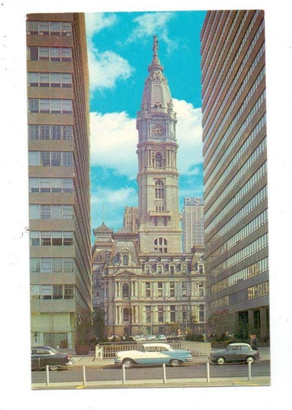 USA - PENNSYLVANIA _ PHILADELPHIA, City Hall, US-cars, Lloyd