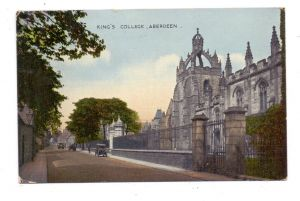 UK - SCOTLAND - ABERDEENSHIRE, King's College, 1926
