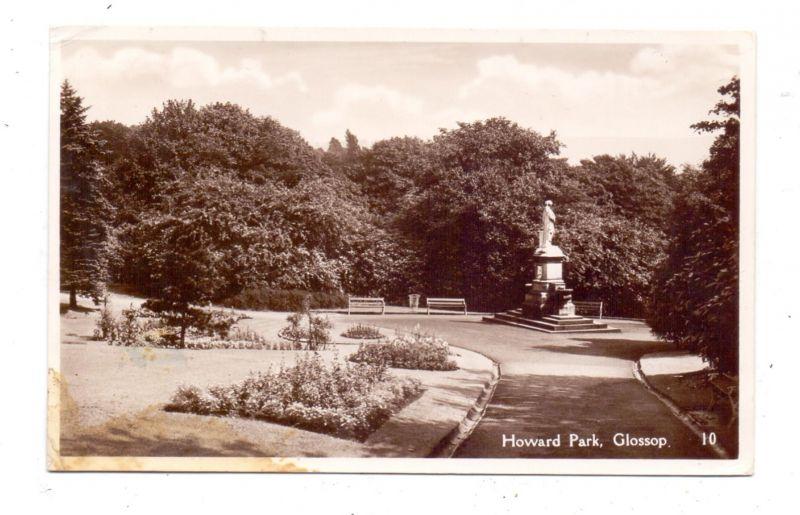 UK - ENGLAND - DERBYSHIRE - GLOSSOP, Howard Park, 1952