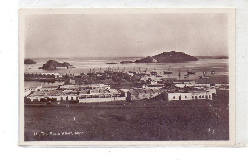 YEMEN - ADEN, Maala Wharf