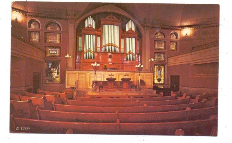 USA - MASSACHUSETTS - BOSTON, The First Church of Christ, Scientist, Original Mother Church, Orgel, 1961
