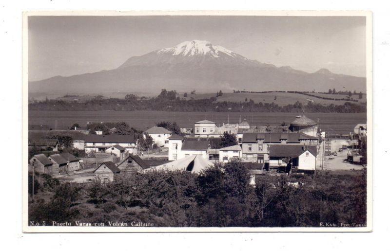 CHILE - PUERTO VARAS con Volcan Calluco