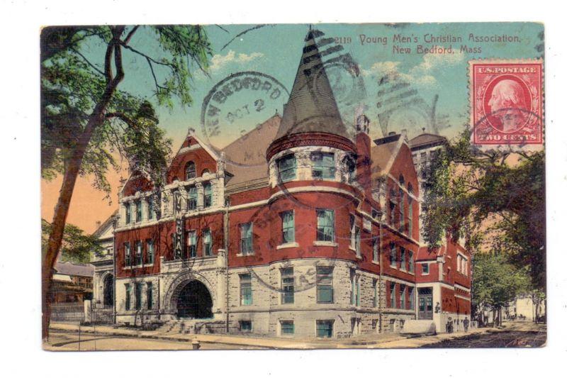USA - MASSACHUSETTS - NEW BEDFORD, YMCA, 1910