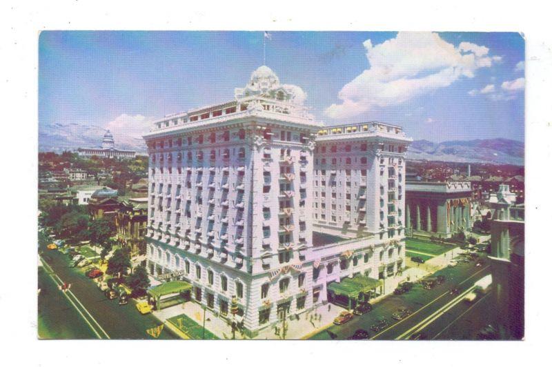 USA - UTAH - SALT LAKE CITY, Hotel Utah