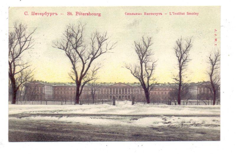RU 190000 SANKT PETERSBURG, Smolny Institut, 1907