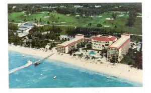 BAHAMAS - NASSAU, Ambassador Beach Hotel, air view