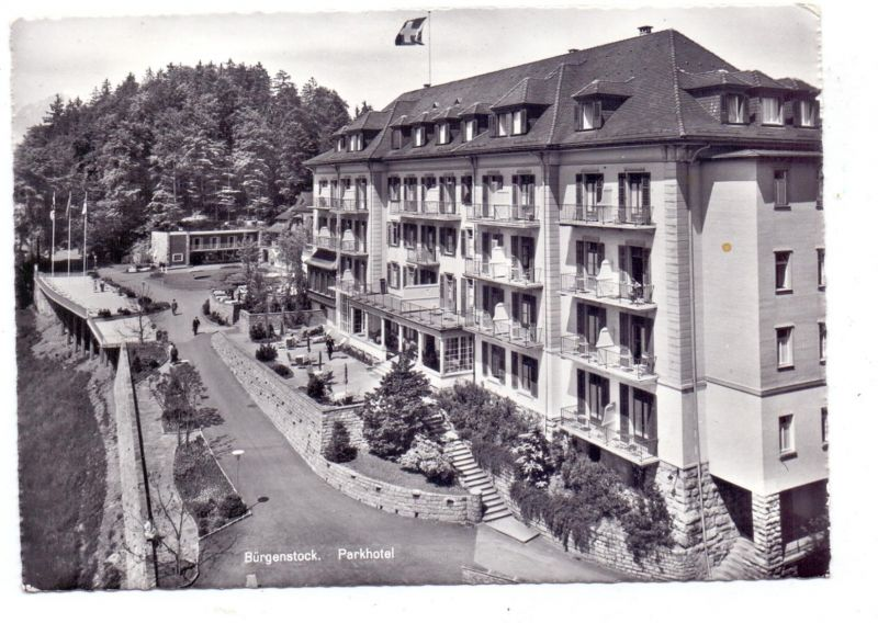 CH 6363 STANSSTAD NW, Bürgenstock, Parkhotel, 1961, Bahnpost / Ambulant