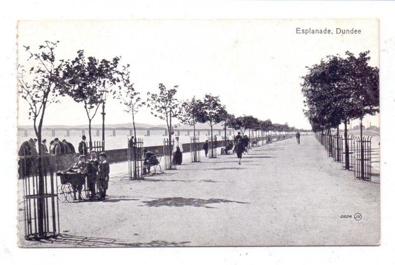UK - SCOTLAND - ANGUS - DUNDEE, Esplanade, little boys with stroller
