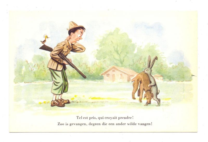JAGD / Hunting / Jacht / Caccia / Chasse / Caza / Lowiectwo - Humor