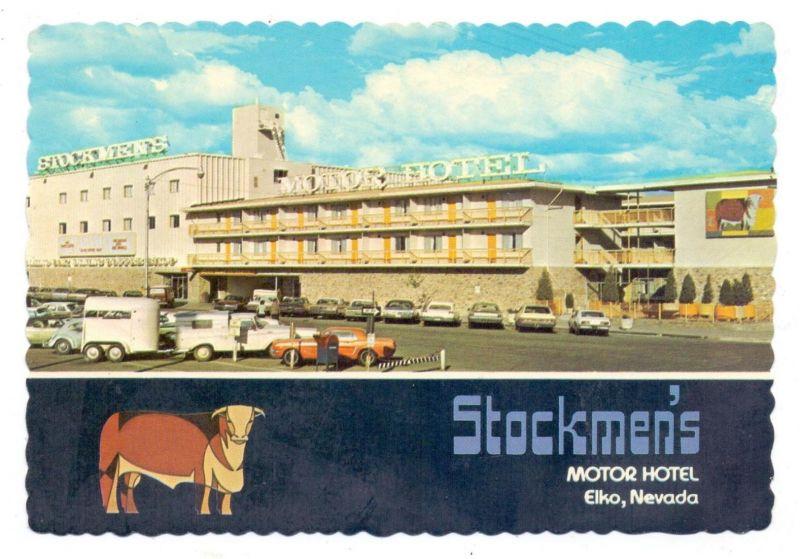 USA - NEVADA - ELKO, Stockmen's Motor Hotel