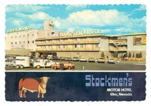 USA - NEVADA - ELKO, Stockmen's Motor Hotel