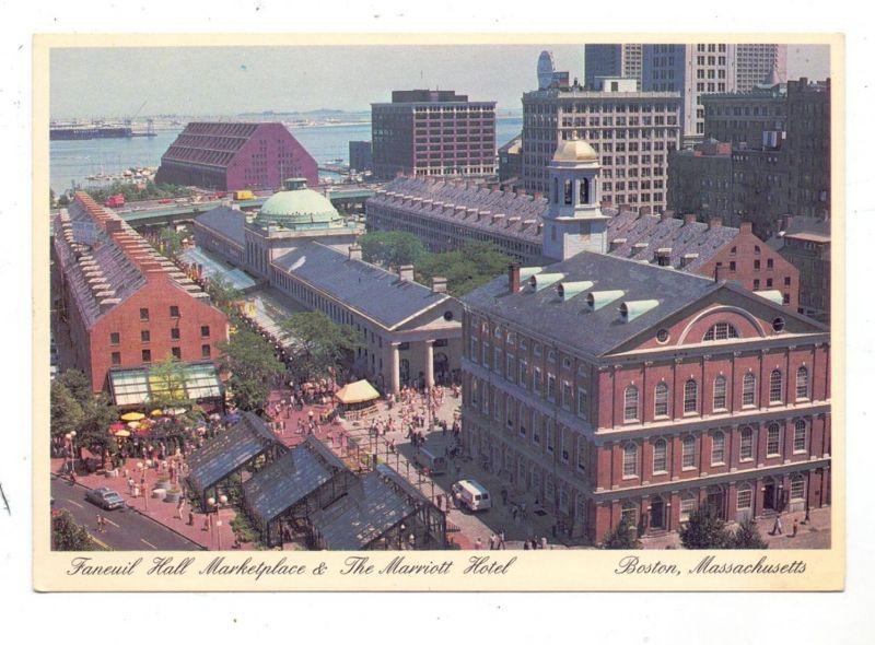 USA - MASSACHUSETTS - BOSTON, Faneuil Hall Marketplace & Marriott Hotel