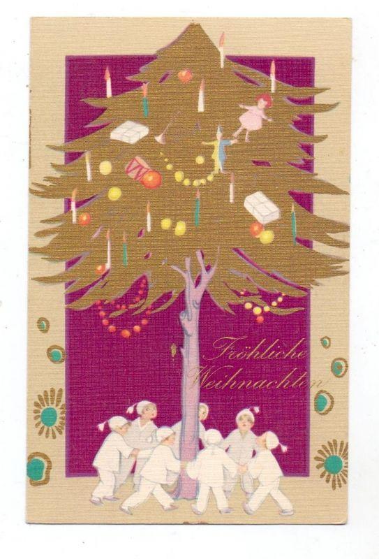 KINDER - Kinder tanzen um Weihnachtsbaum, Verlag: Ballerini & Fratini Firenze 0
