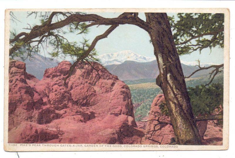 USA - COLORADO - COLORADO SPRINGS, Pike's Peak