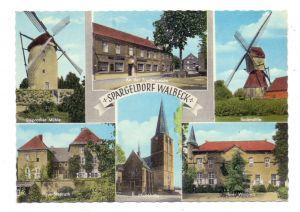 4170 GELDERN - WALBECK, An der Friedenseiche, Windmühlen, Haus Steprath, Pfarrkirche, Haus Walbeck