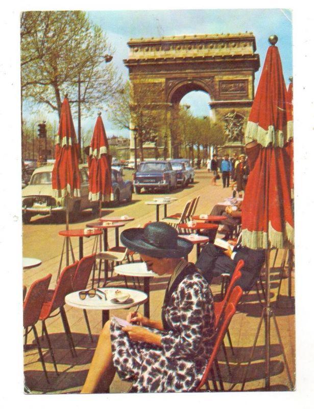 MODE - Indanthren-Werbekarte, Paris
