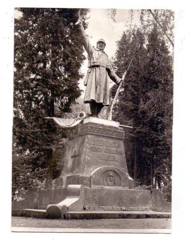 4803 STEINHAGEN, Krieger-Denkmal, Archiv-Beleg