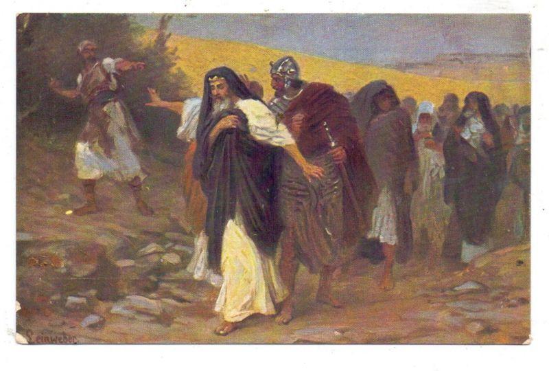 RELIGION - CHRISTENTUM- Die Heilige Schrift, David auf der Flucht vor Absalom