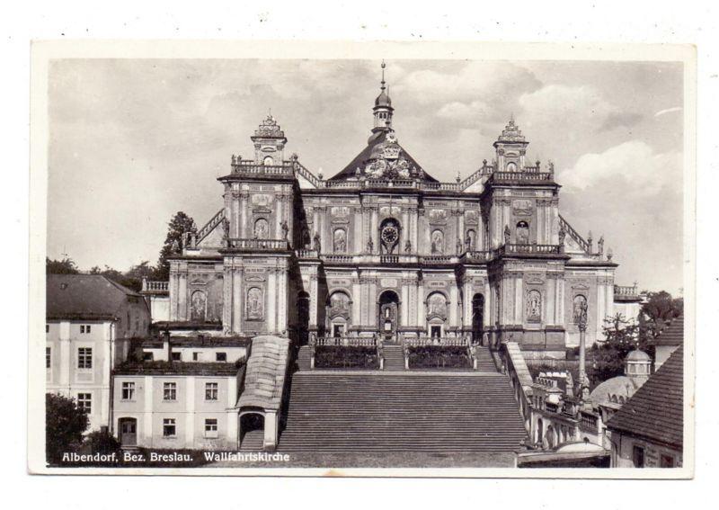 NIEDER-SCHLESIEN - ALBENDORF / WAMBIERZYCE, Wallfahrtskirche