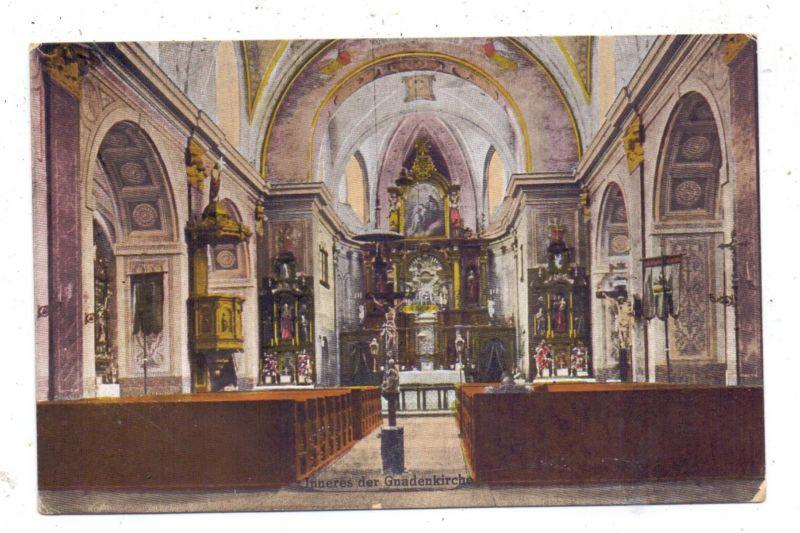 BÖHMEN & MÄHREN - GRULICH / KRALIKY, Inneres der Gnadenkirche,