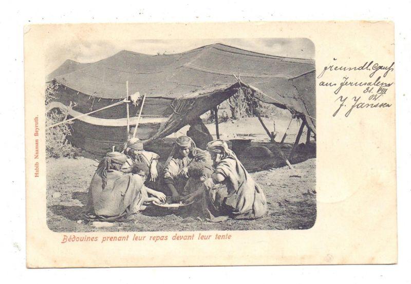 PALESTINA - Bedouines 1902