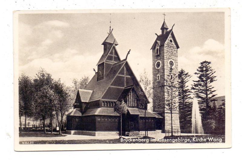 NIEDER-SCHLESIEN - KRUMMHÜBEL / KARPACZ, Kirche Wang