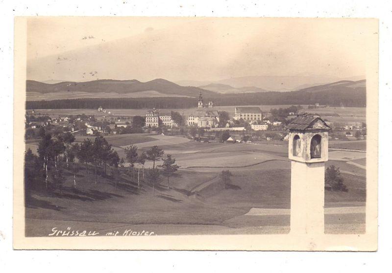 NIEDER-SCHLESIEN - GRÜSSAU / KRZESZOW, Gesamtansicht, 1928