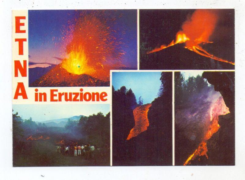 KATASTROPHEN - VULKANAUSBRUCH - ETNA / ÄTNA, Eruption