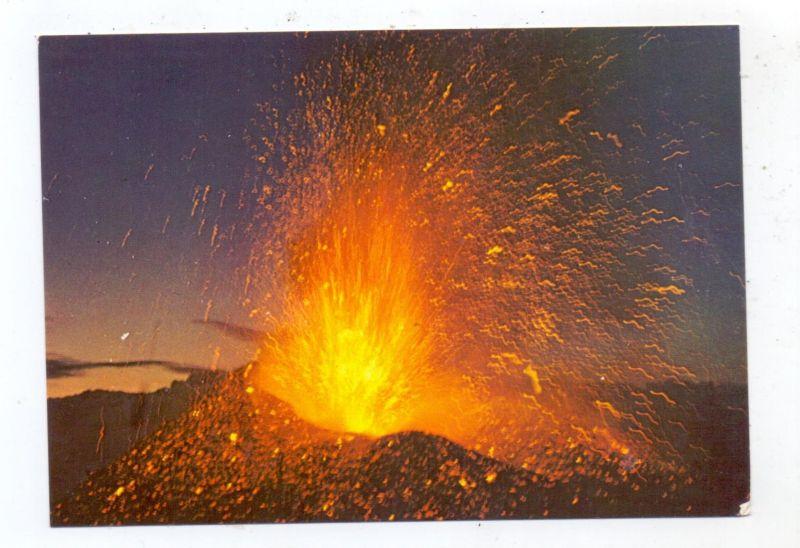 KATASTROPHEN - VULKANAUSBRUCH - ETNA / ÄTNA, Eruption 1978