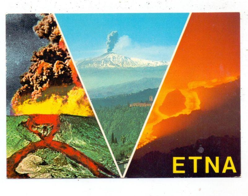 KATASTROPHEN - VULKANAUSBRUCH - ETNA / ÄTNA, Eruptions