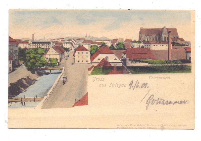 NIEDER-SCHLESIEN - STRIEGAU / STRZEGOM, Gruss aus.. 1901