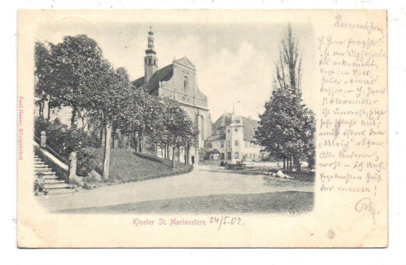 0-8291 PANSCHWITZ - KUCKAU, Kloster St. Marienstern, 1902, Präge-Karte, embossed, relief
