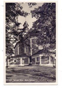 NIEDER-SCHLESIEN - WÖLFELSGRUND / MIEDZYGORZE, Bergkirche Maria Schnee