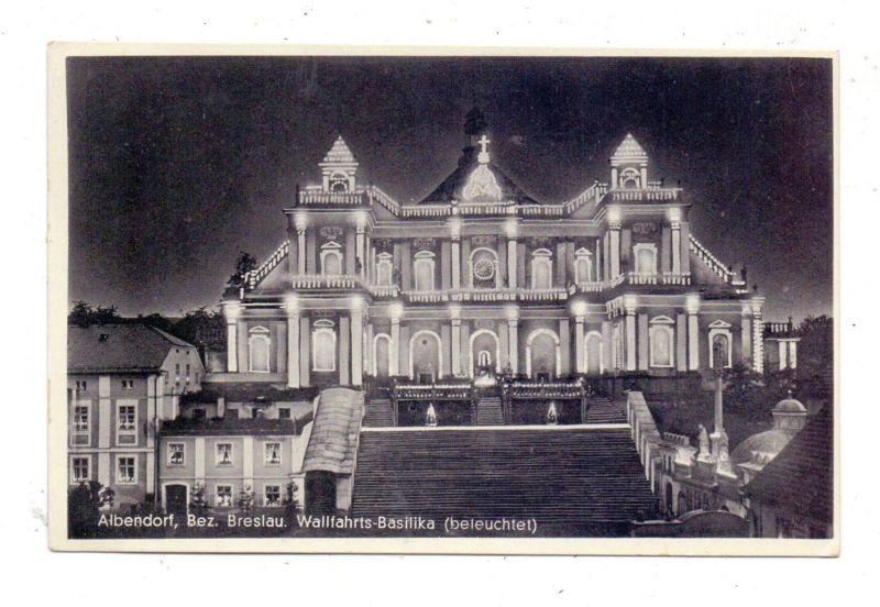 NIEDER - SCHLESIEN - ALBENDORF / WAMBIERZYCE, Wallfahrts-Basilika