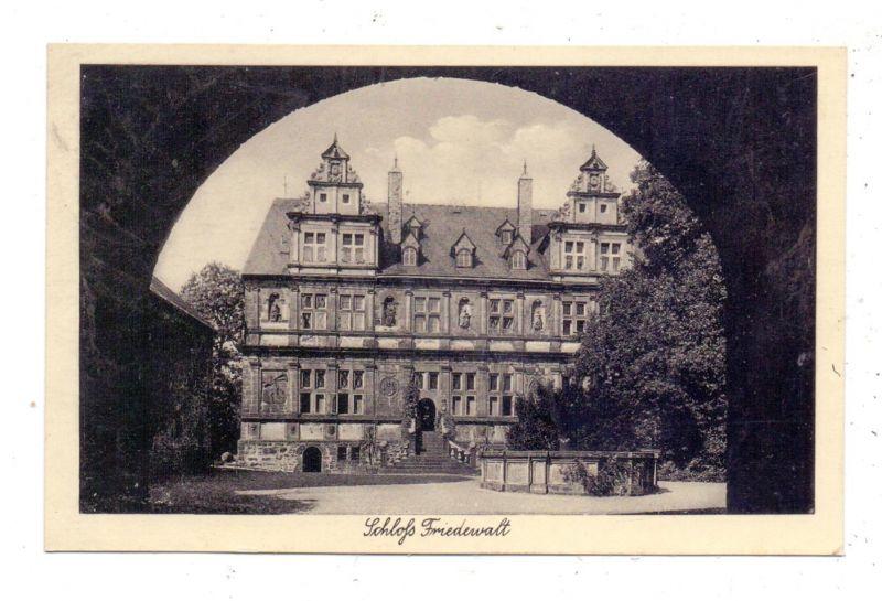 5244 DAADEN - FRIEDEWALD, Schulungsburg Hans Schemm, Landpoststempel