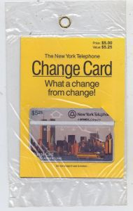 USA - NEW YORK, The New York Telephone Change Card, Original verpackt, 5,25 $