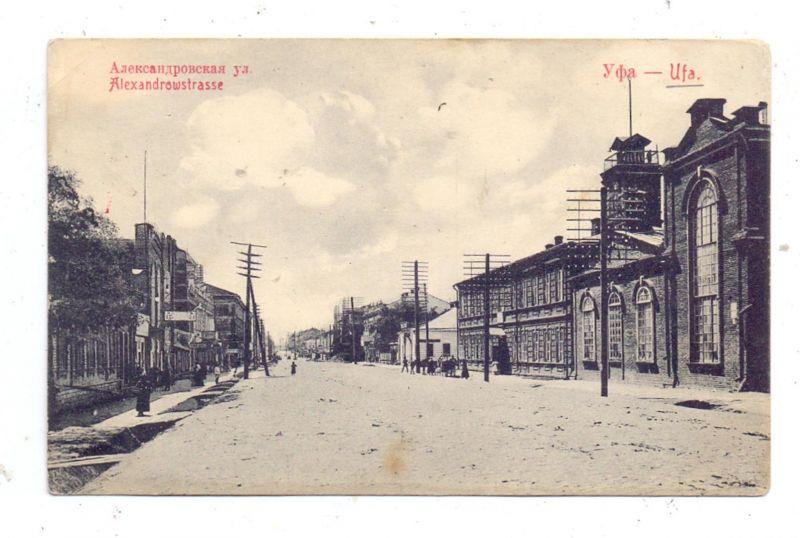 RU 450000 UFA, Alexandrowstrasse