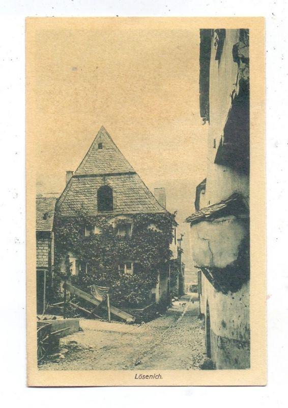 5550 BERNKASTEL-KUES - LÖSNICH, Fachwerkbauten an der Mosel 0