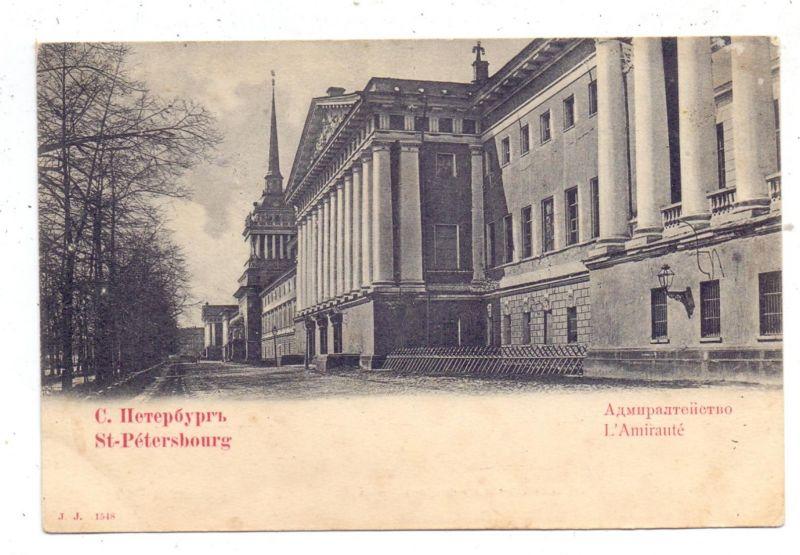 RU 190000 SANKT PETERSBURG, Admiralität, ca. 1900