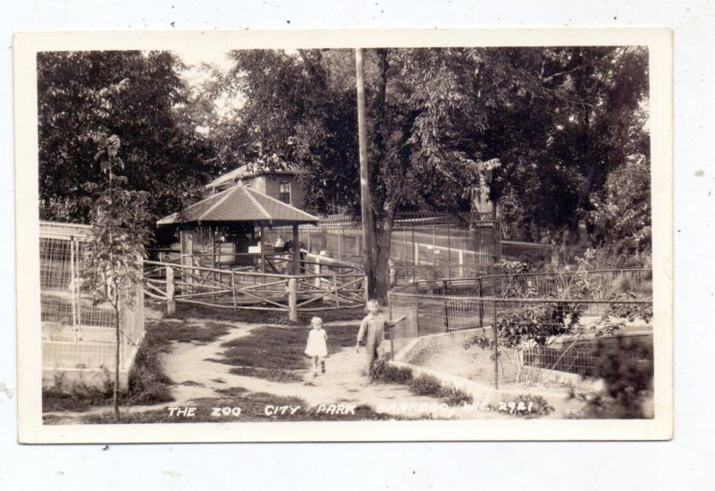 USA - WISCONSIN - BARABOO, Zoo, City Park, 1948