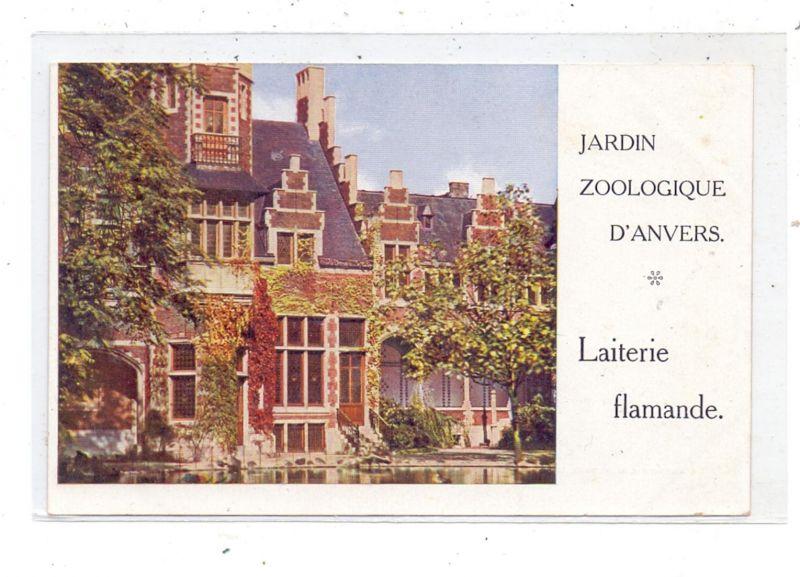 TIERE - ZOO - Antwerpen, Laiterie flamande