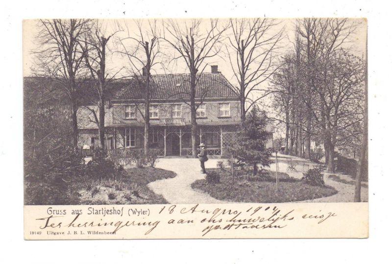 4193 KRANENBURG - WYLER, Gruss aus Startjeshof, 1904 0