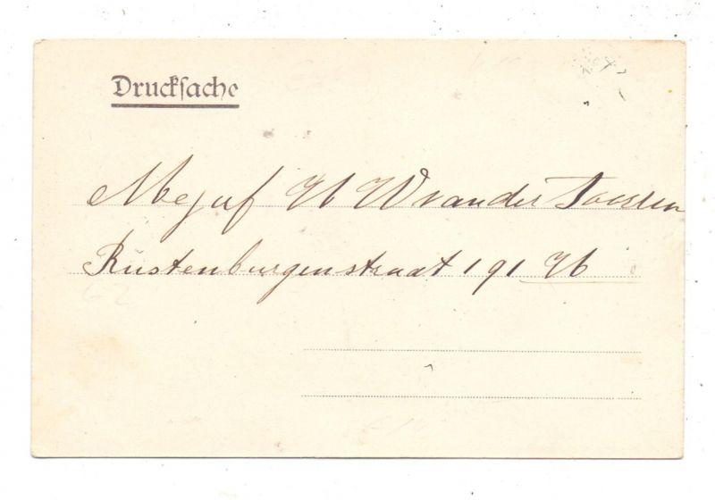 4193 KRANENBURG - WYLER, Gruss aus Startjeshof, 1904 1
