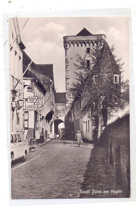 4047 DORMAGEN - ZONS, Rheinstrasse, Hotel zum alten Kurfürsten 0